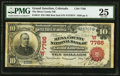 National Bank Notes:Colorado, Grand Junction, CO - $10 1902 Red Seal Fr. 613 The Mesa County NB Ch. # (W)7766. ...