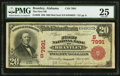 National Bank Notes:Alabama, Brantley, AL - $20 1902 Red Seal Fr. 640 The First NB Ch. # (S)7991. ...