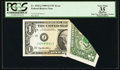 Error Notes:Foldovers, Fr. 1925-J $1 1999 Federal Reserve Note. PCGS Apparent Very Fine35.. ...