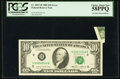 Error Notes:Foldovers, Fr. 2027-H $10 1985 Federal Reserve Note. PCGS Choice About New58PPQ.. ...