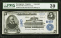 National Bank Notes:Virginia, Lovingston, VA - $5 1902 Plain Back Fr. 607 The First NB of NelsonCounty Ch. # 11957. ...