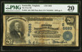 National Bank Notes:Virginia, Farmville, VA - $20 1902 Plain Back Fr. 659 The First NB Ch. #(S)5683. ...