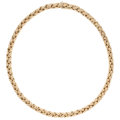 Estate Jewelry:Necklaces, Gold Necklace, Tiffany & Co. ...