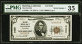 National Bank Notes:California, Banning, CA - $5 1929 Ty. 1 The First NB Ch. # 9459. ...