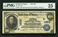 National Bank Notes:Oregon, Portland, OR - $100 1902 Date Back Fr. 690 The First NB Ch. # (P)1553. ...