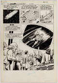 Original Comic Art:Splash Pages, Curt Swan and Murphy Anderson Superman Annual #10 SplashPage Original Art (DC Comics, 1984)....