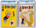 Silver Age (1956-1969):Humor, Richie Rich #25 and 99 CGC-Graded File Copies Group (Harvey, 1964-70).... (Total: 2 Comic Books)