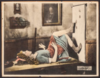 """Through the Back Door (United Artists, 1921). Trimmed Lobby Card (10.5"""" X 13.5""""). Drama"""