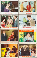 """Movie Posters:Drama, Suddenly, Last Summer & Other Lot (Columbia, 1960). Fine/Very Fine. Lobby Cards (8) (11"""" X 14""""). Drama.. ... (Total: 8 Items)"""