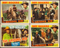 """Movie Posters:Western, The Arizona Kid (Republic, 1939). Title Lobby Card & Lobby Cards (3) (11"""" X 14""""). Western.. ... (Total: 4 Items)"""