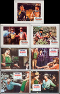 "Movie Posters:Western, El Dorado & Other Lot (Paramount, 1966). Lobby Cards (7) (11"" X 14""). Western.. ... (Total: 7 Items)"