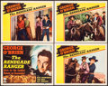 """Movie Posters:Western, The Renegade Ranger (RKO, 1938). Title Lobby Card & Lobby Cards(3) (11"""" X 14""""). Western.. ... (Total: 4 Items)"""