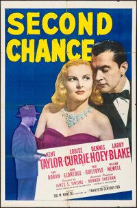 """Second Chance & Other Lot (20th Century Fox, 1947). One Sheets (2) (27"""" X 41""""). Crime. ... (Total: 2 Items..."""