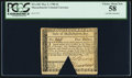 Colonial Notes, Massachusetts May 5, 1780 $4 PCGS Choice About New 58.. ...