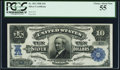 Large Size:Silver Certificates, Fr. 302 $10 1908 Serial Number Two Silver Certificate PCGS ChoiceAbout New 55.. ...