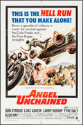 "Movie Posters:Exploitation, Angel Unchained (American International, 1970). One Sheet (27"" X41""). Exploitation.. ..."