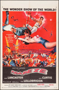"Trapeze (United Artists, 1956). One Sheet (27"" X 41""). Drama"