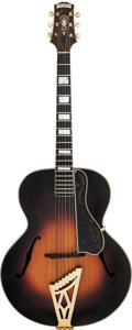 Musical Instruments:Acoustic Guitars, 1934 D'Angelico Sunburst Archtop Acoustic Guitar, Serial # 1034....