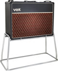 Musical Instruments:Amplifiers, PA, & Effects, 1964 Vox AC 30 Black Guitar Amplifier, Serial #13270 B.... (Total: 2 )
