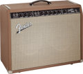 Musical Instruments:Amplifiers, PA, & Effects, 1962 Fender Super Brown Guitar Amplifier, Serial # 56719....