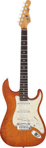 Musical Instruments:Electric Guitars, Circa 2008 G & L S-500 Amber Solid Body Electric Guitar, S...