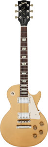 Musical Instruments:Electric Guitars, Circa 1974 Gibson Les Paul Deluxe Goldtop Solid Body ElectricGuitar, Serial # 819683....
