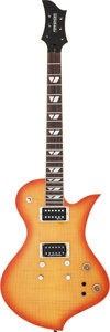 Musical Instruments:Electric Guitars, Circa 2006 Fernandes Active Sunburst Solid Body Electric Guitar,Serial # FG 06110513....