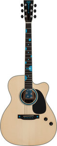 Musical Instruments:Acoustic Guitars, 2006 Martin JC Buddy Guy Natural Acoustic Electric Guitar, Serial # 1146120....