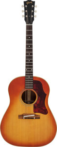 Musical Instruments:Acoustic Guitars, 1964 Gibson J-45 ADJ Sunburst Acoustic Guitar, Serial # 180168....