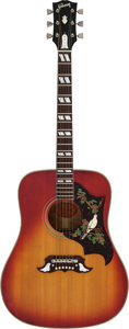 Musical Instruments:Acoustic Guitars, 1964 Gibson Dove Cherry Sunburst Acoustic Guitar, Serial # 178302....