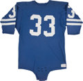 Football Collectibles:Uniforms, Early 1970's Willie Ellison Game Worn Los Angeles Rams Jersey....