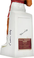 Boxing Collectibles:Autographs, 1981 Muhammad Ali (Cassius Clay) Signed Porcelain Decanter. . ...