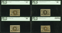 Near Complete Set of Second Issue Notes PCGS Graded