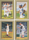 Baseball Collectibles:Others, 1980's-90's Hall of Famers Signed Perez-Steele Greatest Moments Cards Lot of 66. . ...