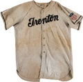 Baseball Collectibles:Uniforms, 1942-44 Trenton Packers Game Worn Jersey with Health Patch. . ...