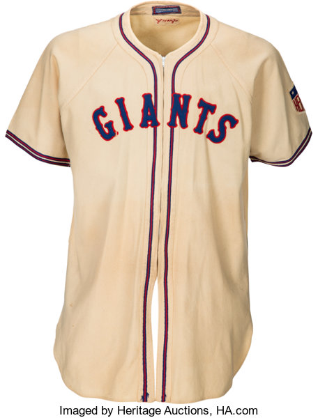 a4790322 1942 Johnny Mize Game Worn New York Giants Jersey.. ... Baseball ...