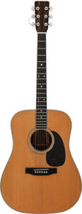 Musical Instruments:Acoustic Guitars, 1966 Martin D-35 Natural Acoustic Guitar, Serial # 214944....