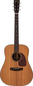 Musical Instruments:Acoustic Guitars, 1956 Martin D-18 Natural Acoustic Guitar, Serial # 152258....