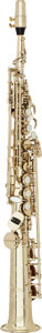 Musical Instruments:Horns & Wind Instruments, 2004 Selmer Series III Brass Soprano Saxophone, Serial #N-653317....