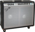 Musical Instruments:Amplifiers, PA, & Effects, 1978 Fender Twin Reverb Black Guitar Amplifier, Serial # A882013....