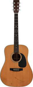 Musical Instruments:Acoustic Guitars, 1976 Martin D-28 Natural Acoustic Guitar, Serial # 387847....