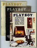 Magazines:Miscellaneous, Playboy Group (HMH Publishing, 1960-64) Condition: Average FN....(Total: 24)