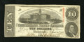 Confederate Notes:1863 Issues, T59 $10 1863. This is a well preserved note that only lacks abetter cut. Crisp Uncirculated....