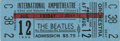 Music Memorabilia:Tickets, Beatles International Amphitheatre Concert Ticket. An unused ticketfrom their August 12, 1966, show in Chicago, the first p...