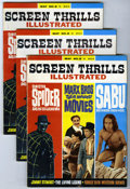 Magazines:Vintage, Screen Thrills Illustrated #8 Group (Warren, 1963) Condition: Average FN+.... (Total: 26)