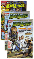 Modern Age (1980-Present):Science Fiction, Mars Attacks (first series) Group (Topps Comics, 1994) Condition:Average NM+.... (Total: 27)