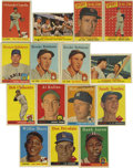Baseball Cards:Lots, 1958 Topps Baseball Group Lot of 259. Tremendous collection of over250 cards is made available here, all from the 1958 Top...