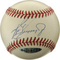 Autographs:Baseballs, Ken Griffey, Jr. Single Signed Baseball. The sweet swing of KenGriffey, Jr. along with his slick fielding prowess make him...