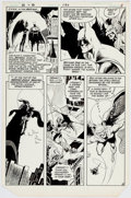 Original Comic Art:Panel Pages, Jim Aparo Brave and the Bold #186 Story Page 6 Original Art (DC, 1982)....