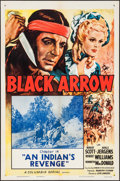 "Movie Posters:Serial, Black Arrow (Columbia, R-1955). One Sheets (2) (27"" X 41"") Chapters 14 & 15. Serial.. ... (Total: 2 Items)"